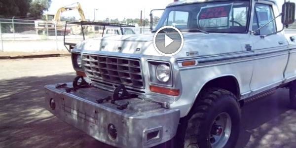 1973 Ford F-250 3208 Caterpillar Diesel! She's One Dangerous Cat For Sure... - NO Car NO Fun ...