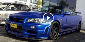 630bhp R34 Skyline GT-R Accelerations - Massive Turbo Sound