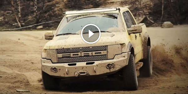 The EPIC Truck Battle MercedesBenz Vs Ford Raptor WATCH And