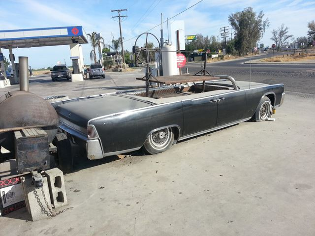 1964 Lincoln Continental Grill No Car No Fun Muscle Cars And