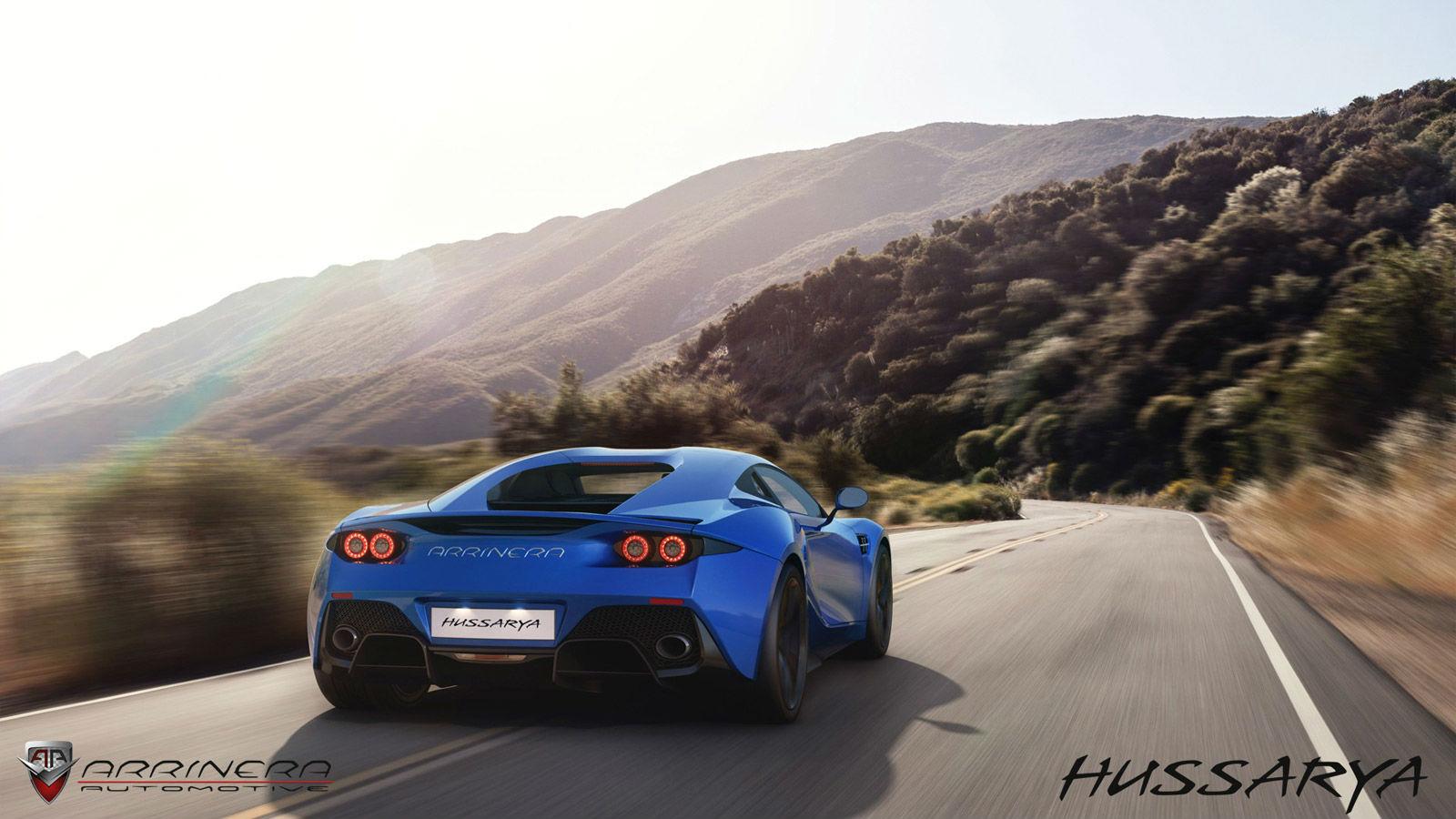 Arrinera Hussarya Rear End Blue Version No Car No Fun Muscle