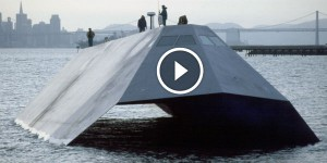 SUPER FAST us navy sea shadow STEALTH SHIP