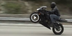 Single turbo Supra races bike and blows motor