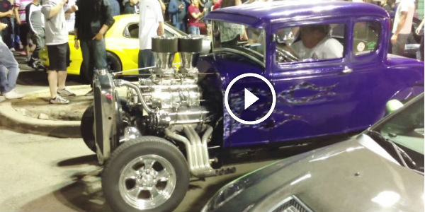 The SCARY V8 HOTROD That MADE THE 4-CYLINDERS CRY!!! Attention: Turn Your Volume To The Maximum!!!