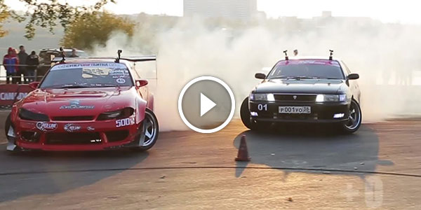 EXTRA DRIFT Video from KEMEREVO DRIFT FEST 2014 – This is How Russians are Doing It…