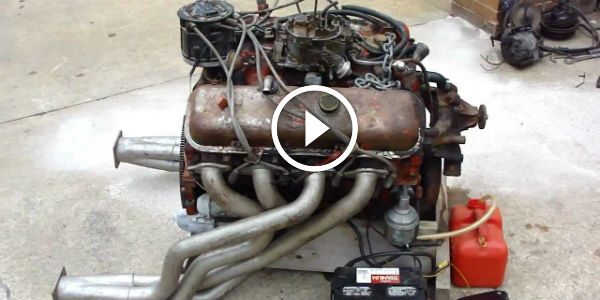 Noisy Powerhouse Hot Rat Rod 1970 Big Block Chevy Engine
