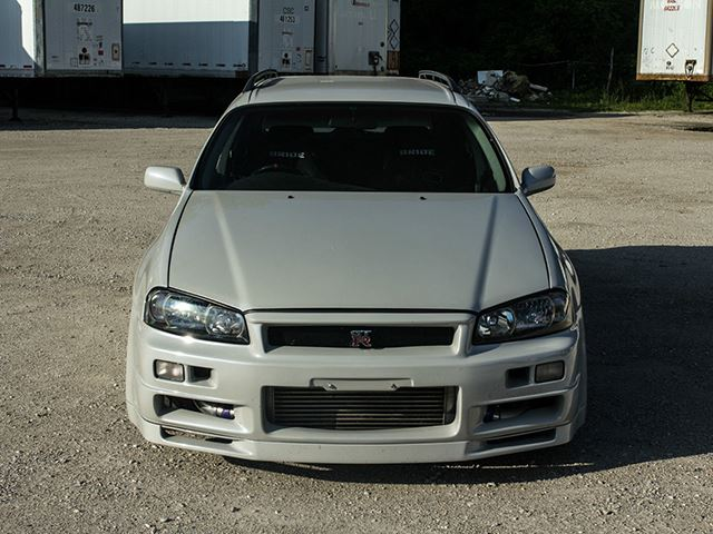 Nissan R34 Gt R Wagon Front End Top View No Car No Fun