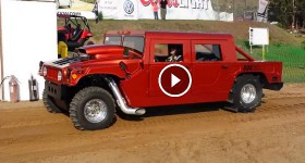 Santa Maria Speedway sand drags fast Hummer