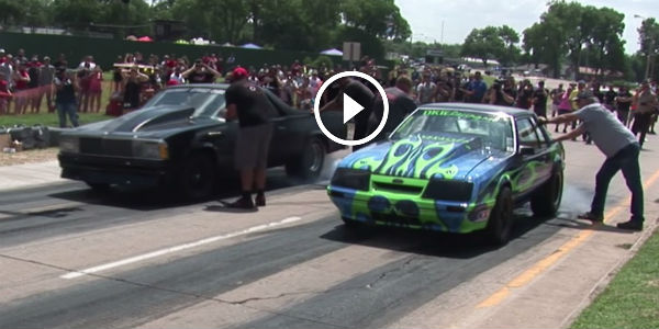Old Muscle Beasts - El Camino vs. Mustang! - FURIOUS RAGE ...