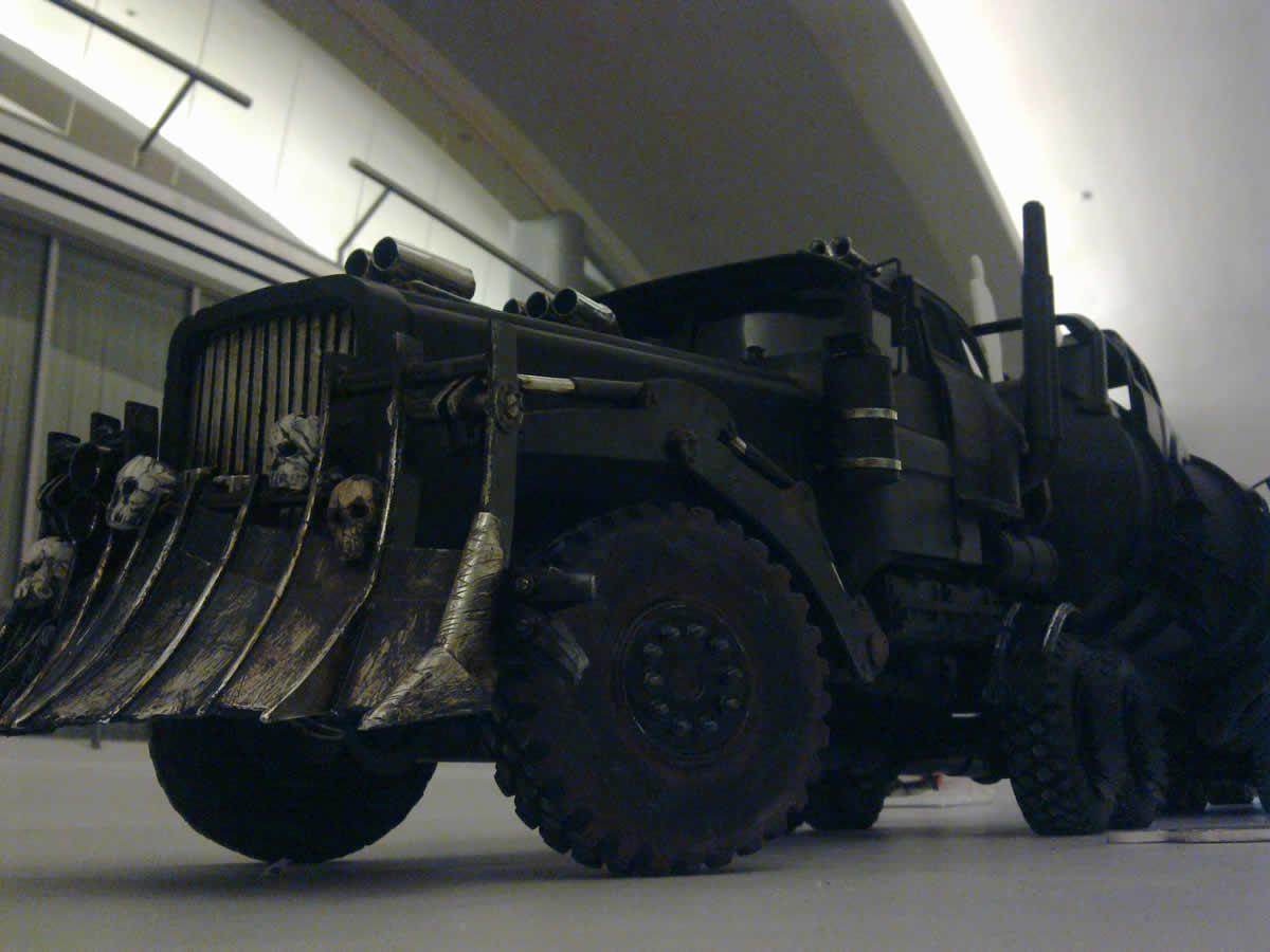 Mad Max Fury Road The War Rig Front Three Quarters Left