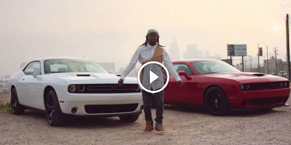 Equus Muscle Car >> INTENSE Tyga's Furious 7 Soundtrack Song 'Ride Out' Features A PAIR OF MEAN DODGE CHALLENGER ...