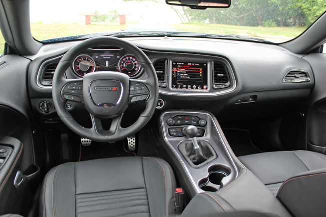 2015 Dodge Challenger Scat Pack Interior View