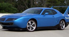 2016 Plymouth Superbird front three quarters left angle - cl