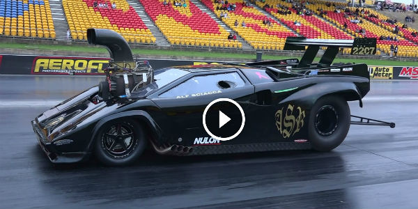 Supercharged Lamborghini V8 Drag Car The Craziest Vehicle