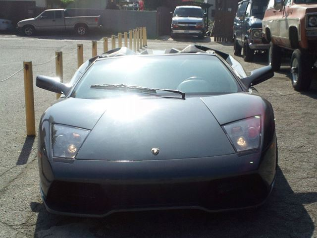 Lamborghini Murcielago Roadster Front End No Car No Fun Muscle