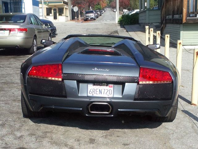 Lamborghini Murcielago Roadster Rear End No Car No Fun Muscle