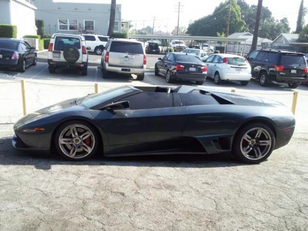 Lamborghini Murcielago Roadster side view