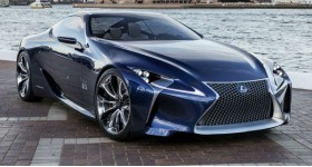 Lexus LF-LC Concept front three quarters - cl