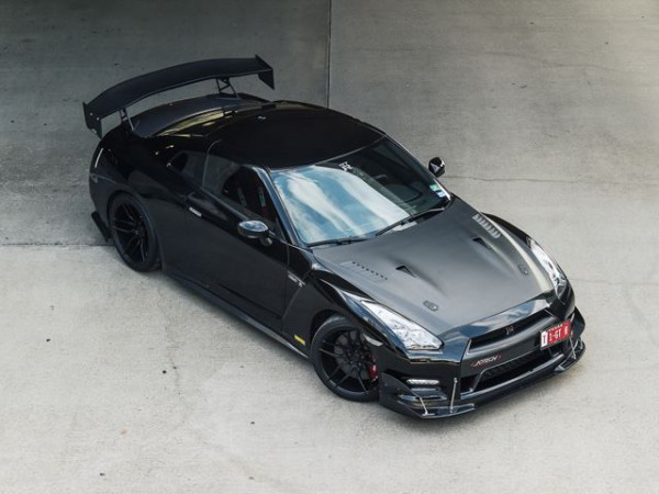 Nissan GTR Stage S 6 By Jotech Motorsports top view front three quarters