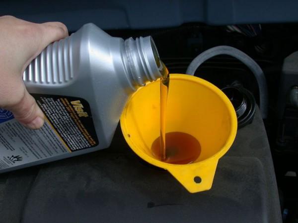 motor oil refill