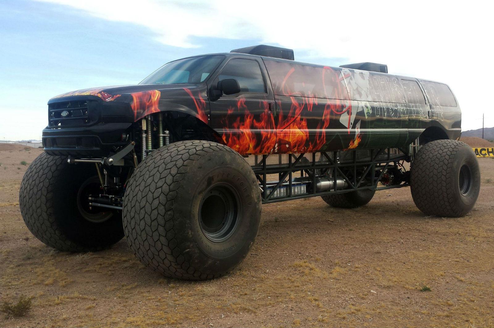 sin-city-hustler-monster-truck-left side front three ...