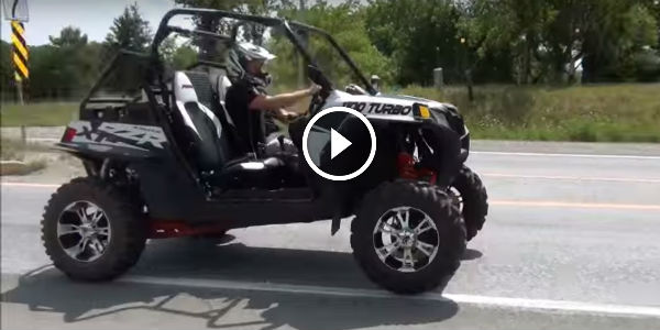 Nothing But AN EARTH SHATTERING Fast Polaris RZR XP 1100 Turbo With TD 4 Stage ECU And Antilag Launch Control!!!