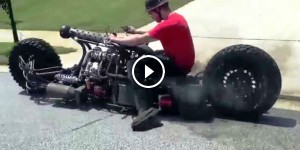 Test Drive of AWD Hydrostatic Diesel Motorcycle