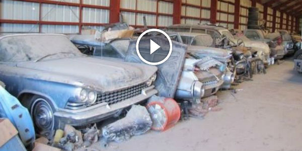 Time To Visit Another Barn Full Of Old Gm Cars Unearthed In Nebraska 200 Classic Cars Go For