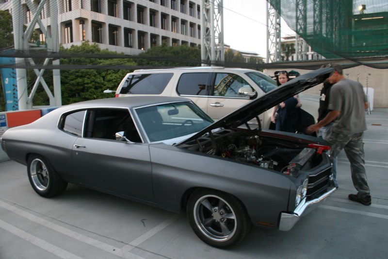 Introducing Dom Toretto S 1970 Primer Chevrolet Chevelle Ss This