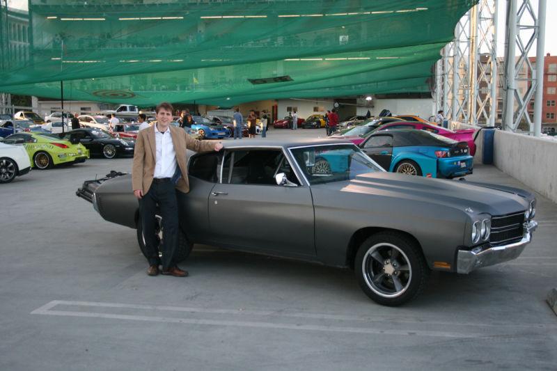 Dom Toretto S 1970 Primer Chevrolet Chevelle Ss Side Three Quarters