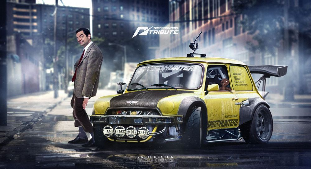 Mr Bean\'s Mini front three quarters - NO Car NO Fun! Muscle Cars and ...