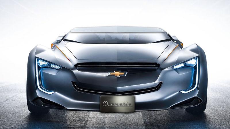 new chevrolet chevelle concept car front end no car no