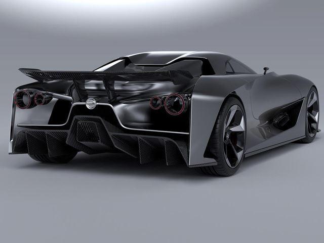 New Nissan GTR concept rear three quarters - NO Car NO Fun ...