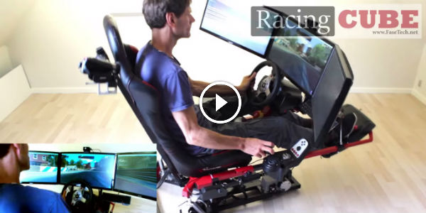 WELCOME TO THE AFFORDABLE, RACING VIRTUAL REALITY: The