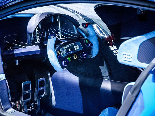 Bugatti Vision Gran Turismo Interior View No Car No Fun