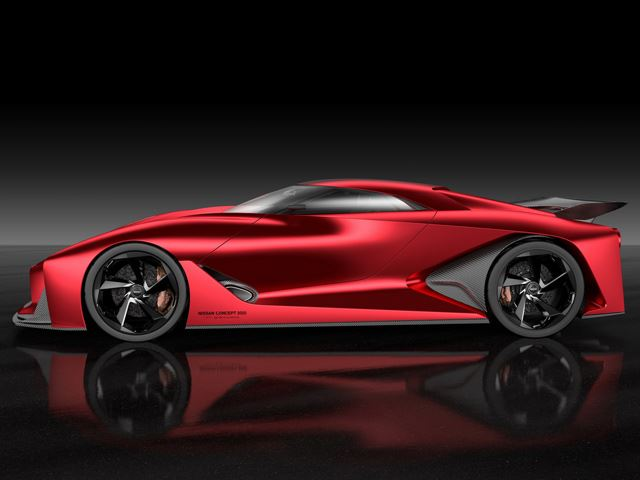 Nissan 2020 Vision Gran Turismo Left Side View No Car No