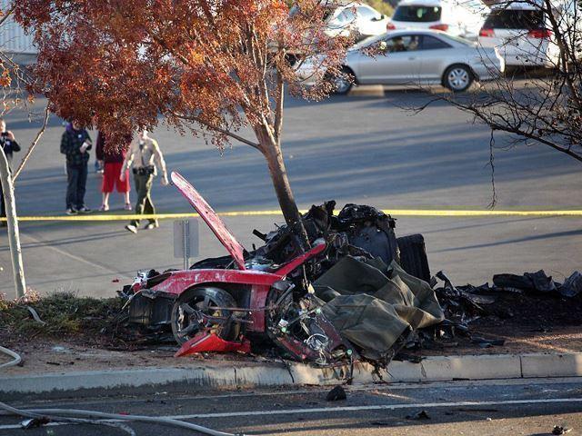 Porsche Carrera Gt Paul Walker Crash No Car No Fun