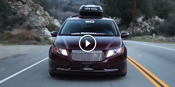 Is this 1 000 hp honda odyssey minivan the ultimate for 1000hp honda odyssey