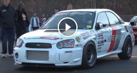 NEW 6-Speed Subaru WORLD RECORD - 8.4 @ 168mph!