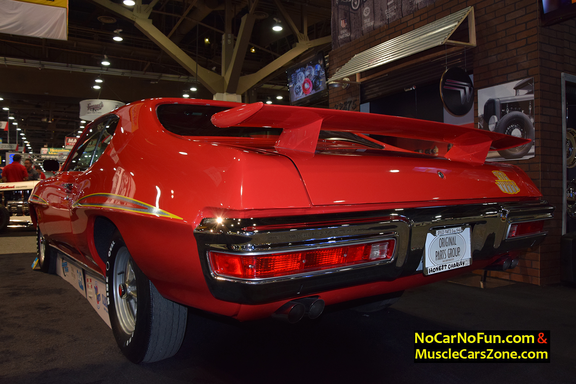 gto 1970 judge pontiac motor sema restored stroud bodie cars muscle