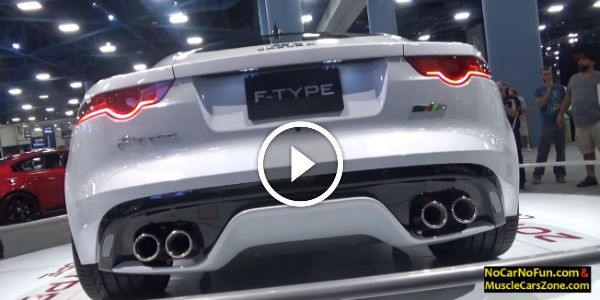 2016 Jaguar F Type Coupe At 2015 Miami Motor Show If You