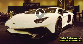 2016 Lamborghini Aventador Prestige Imports and 3 other Lamborghinis at 2015 Miami Motor Show