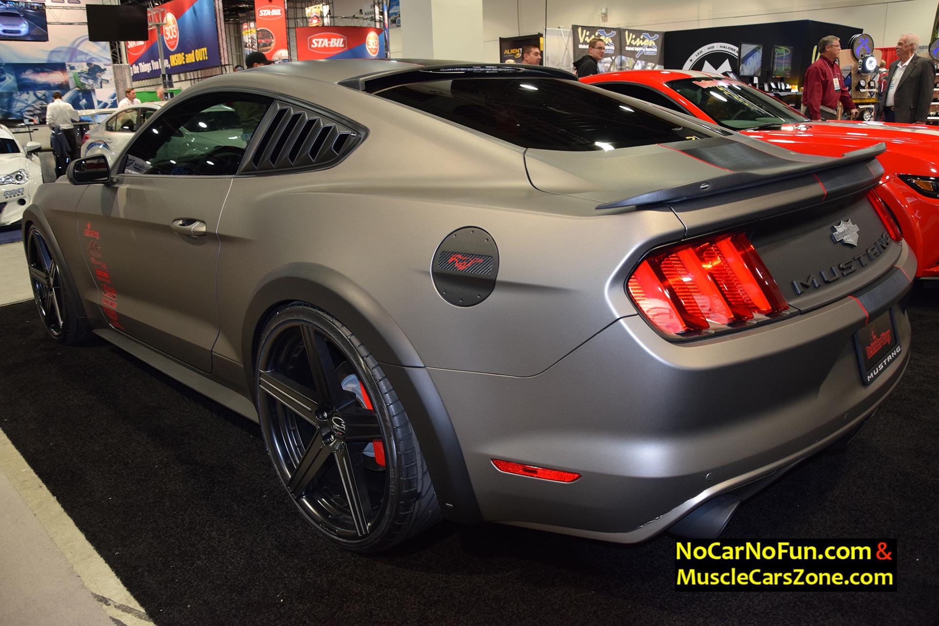 Custom Ford Mustang Gt Defenderworx Sema Motor Show