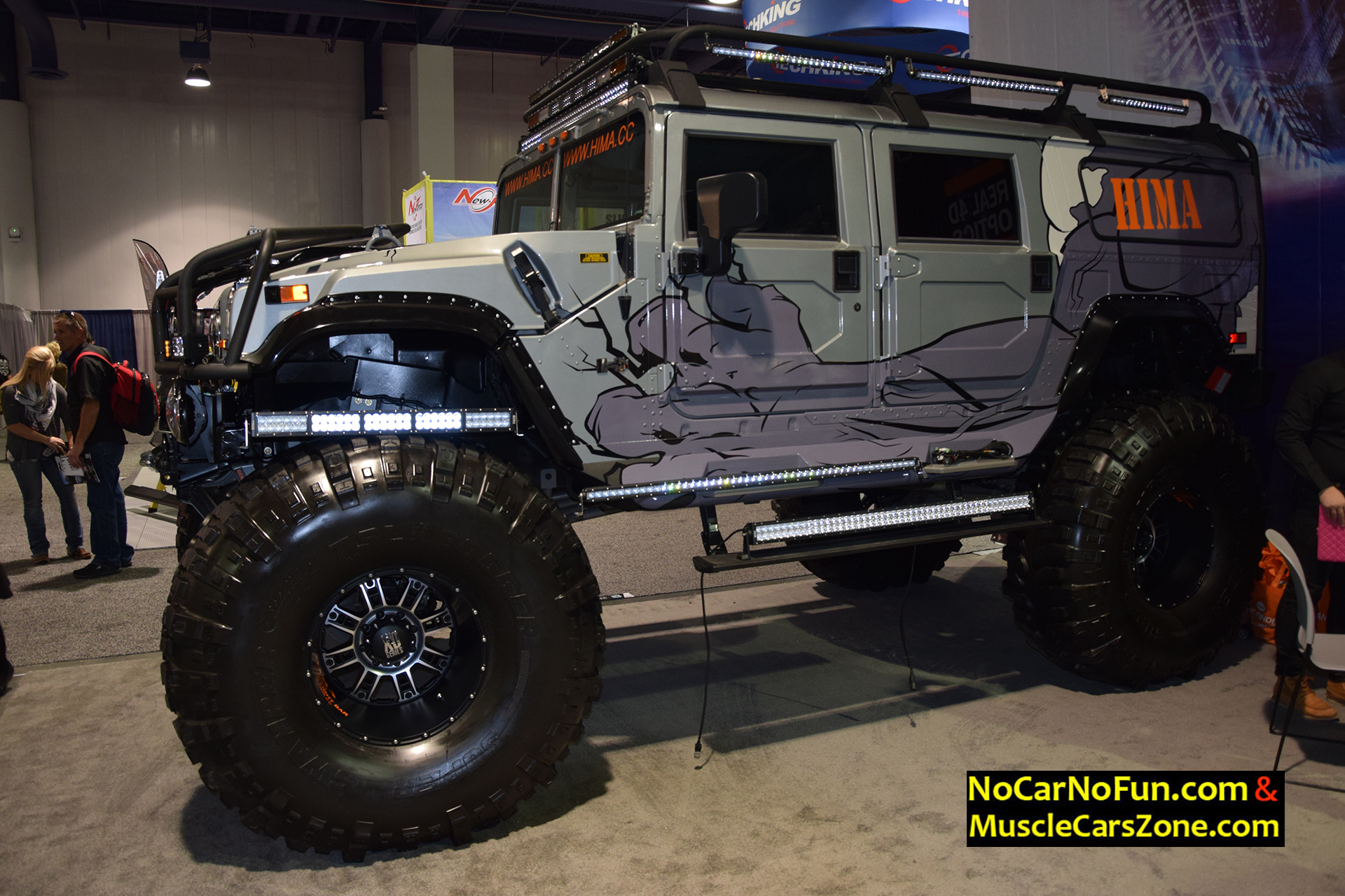 Extremely Lifted Hummer H2 By Hima 2015 Sema Motor Show 5 No