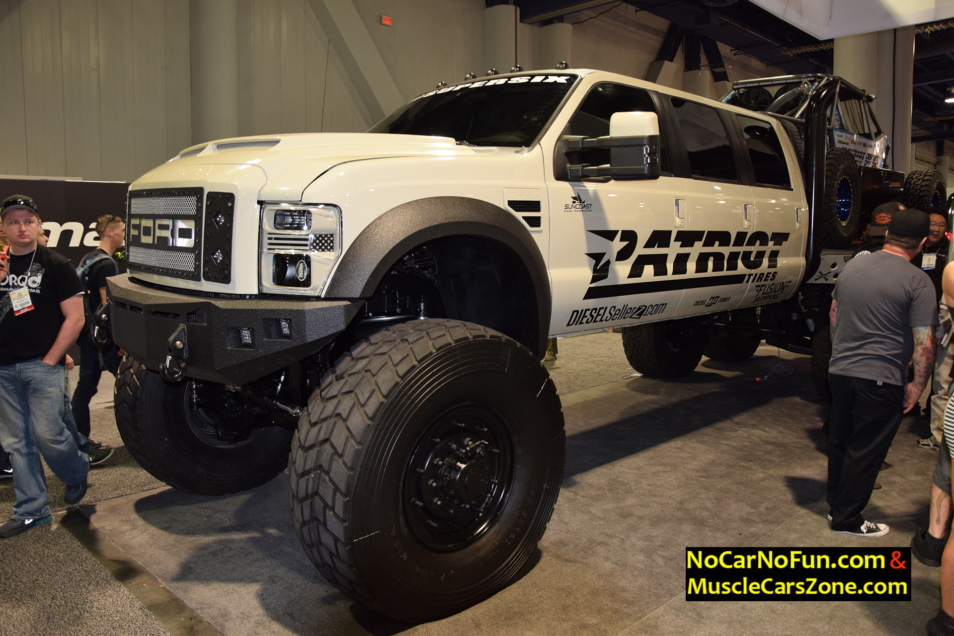 Huge 6 Door Ford Truck By Dieselsellerz With Buggy On Top