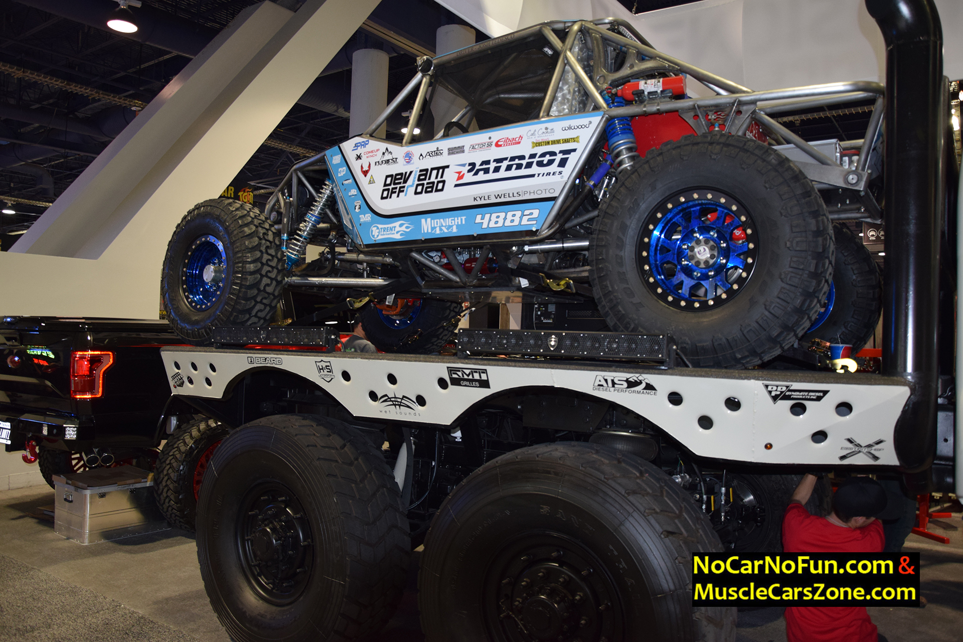 6 Door Ford Truck >> Huge 6 Door Ford Truck By Dieselsellerz With Buggy On Top 2015