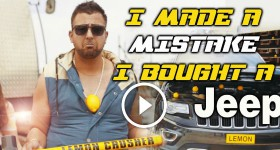 I Made A Mistake I Bought A Lemon Jeep song by Teggy – Jeep Grand Cherokee what a lemon!