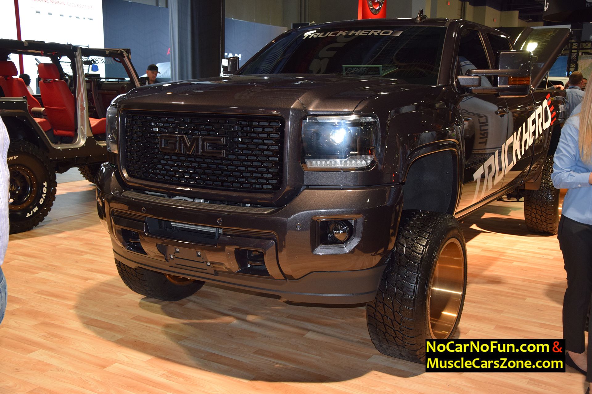2015 Dodge Magnum >> Lifted GMC Denali Truck On Specialty Forged Wheels - 2015 ...
