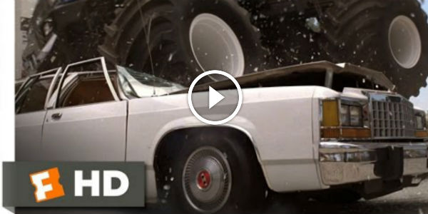 The Famous Scene With Monster Truck Smashing Cars In 1989 Road House One Simply Cannot Forget