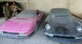 Saddam Husseins Son's Lost Car Collection - cl